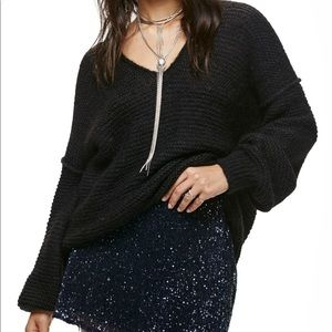 Free People All Mine Be Mine Sweater Size Small